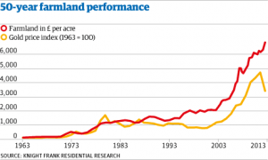 Gold vs. Farmland (Real Assets)
